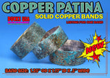 BANDS - PATINA COPPER Custom Hand-Crafted PATINA BAND 1-PACK