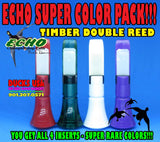 INSERT - ECHO TIMBER POLYCARB SUPER RARE COLOR PACK - YOU GET ALL 4!!!