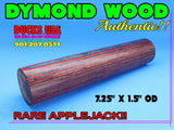 DYMOND WOOD - AUTHENTIC Dymond Wood Rare APPLEJACK Solid Turning Blank Last One!!
