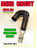 "INSERT - DEER GRUNT Adjustable Tone with Flex Tube Fits 27/32"" Bore Works Great!!"