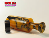 DUCK CALL KIT - ULTRA ACRYLIC TIGER SWIRL with Matching Acrylic Insert