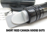 GOOSE CALL KIT - CANADA GOOSE Black Pearl Acrylic Barrel, Black Insert, Premium Stainless Band