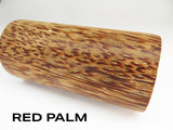 WOOD - BLACK PALM & RED PALM EXOTIC WOOD BARREL BLANKS - You Pick!!
