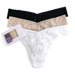 Hanky Panky 3 Pack original thongs