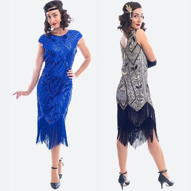 Beaded Great Gatsby Dress Banner