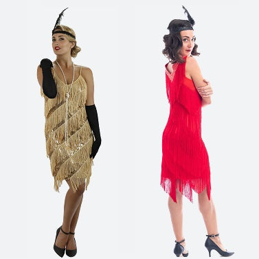 Fringe Flapper Dress Banner