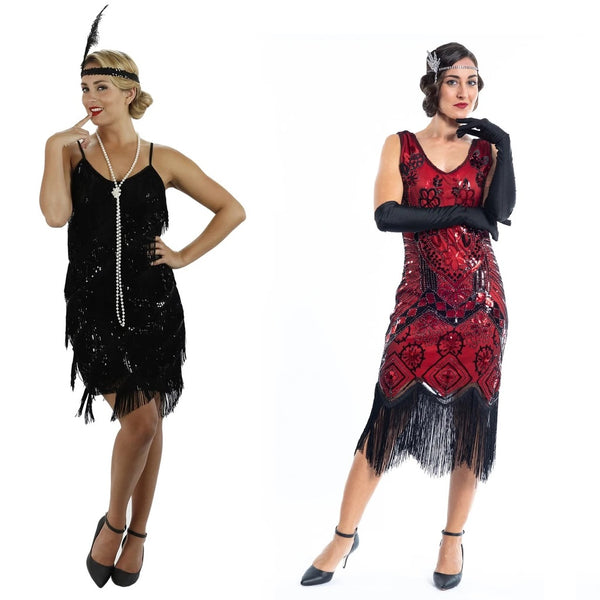 Product image with reference to Fringe Flapper Dress and Vintage Flapper Dress
