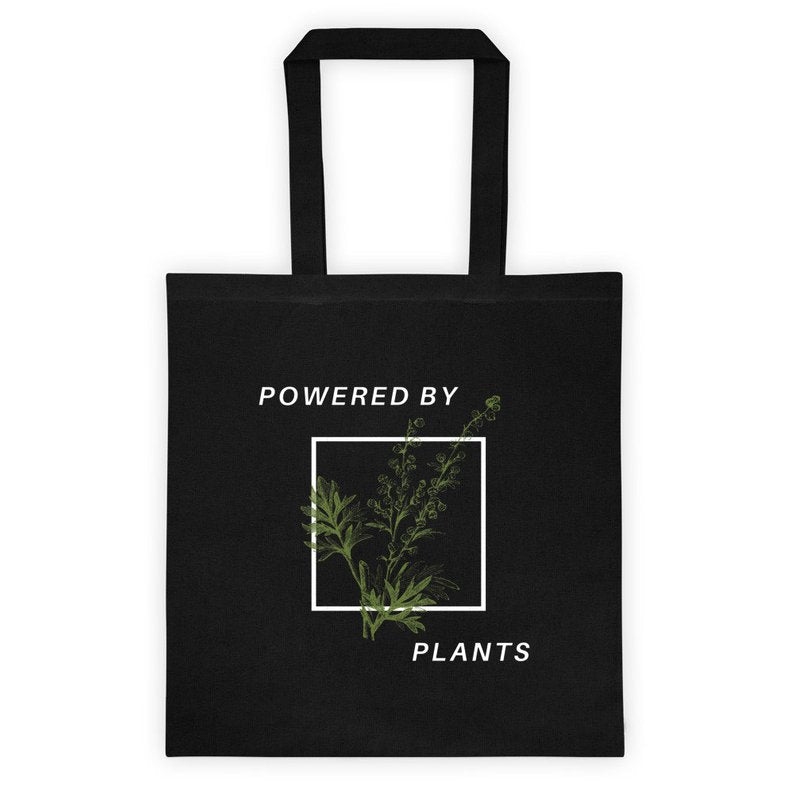 Powered by Plants Canvas Tote