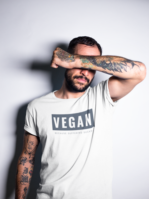 Vegan Because Suffering Tee