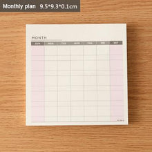 Load image into Gallery viewer, Cute Kawaii Weekly Monthly Work Planner Book Diary Agenda Dokibook For Kids School Supplies Free Shipping