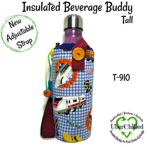 Beverage Buddy - Tall (Trains)
