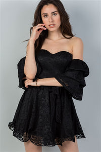 Bad Romance | Flounce Baby Doll Dress - liarboutiques