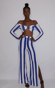 Foxi | Striped Pants Set - liarboutiques