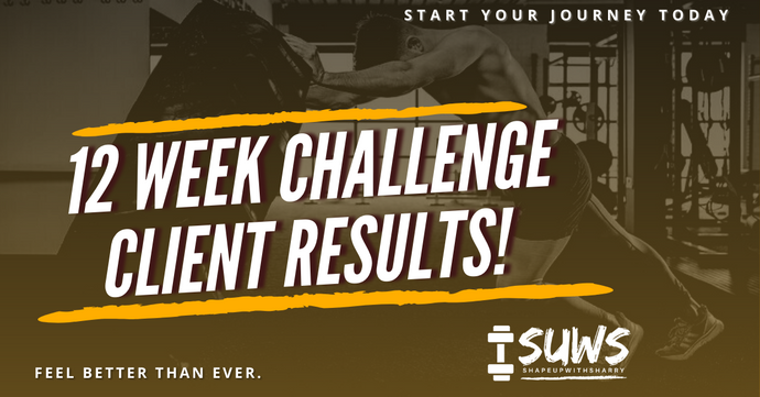 SUWS 12 Week Challenge - Client Reviews!