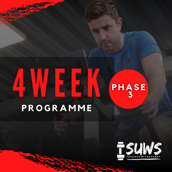 PHASE THREE TAILORED TRAINING AND NUTRITION PROGRAM