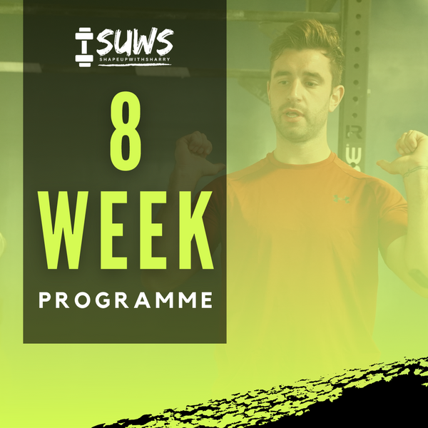 8 WEEK TAILORED NUTRITION AND TRAINING PROGRAM