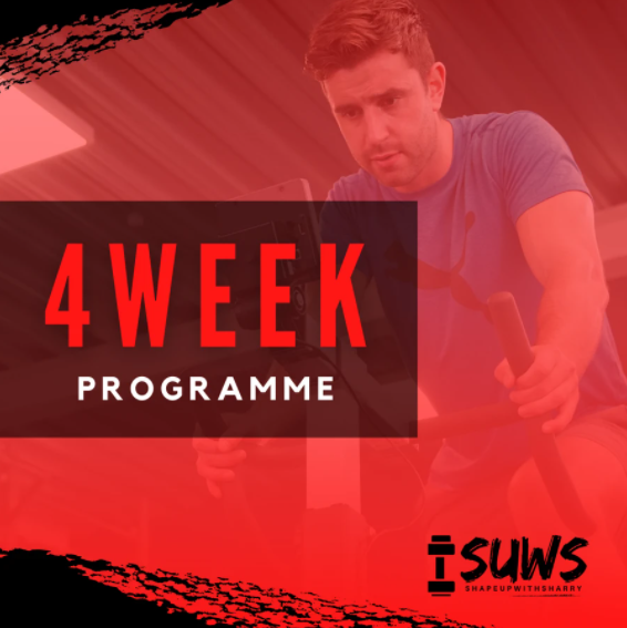 4 WEEK TAILORED NUTRITION AND TRAINING PROGRAM