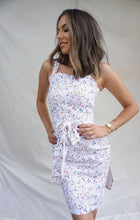 Load image into Gallery viewer, Petite 'chasing sunsets' dress in linen