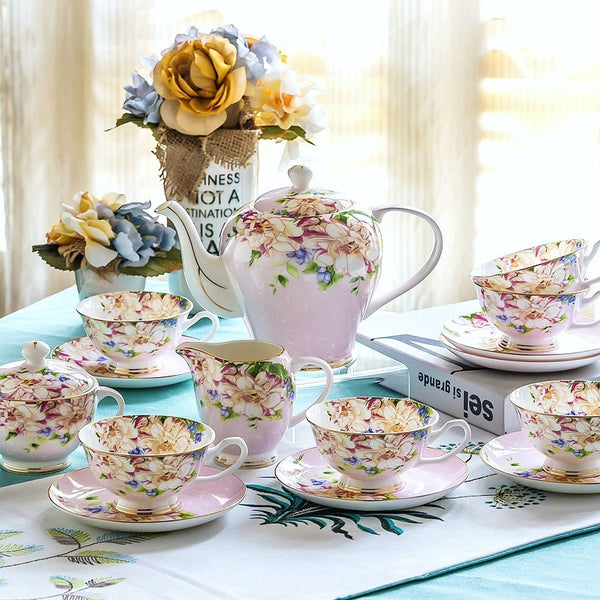 Verona Tea Set - Venetto DesignPink
