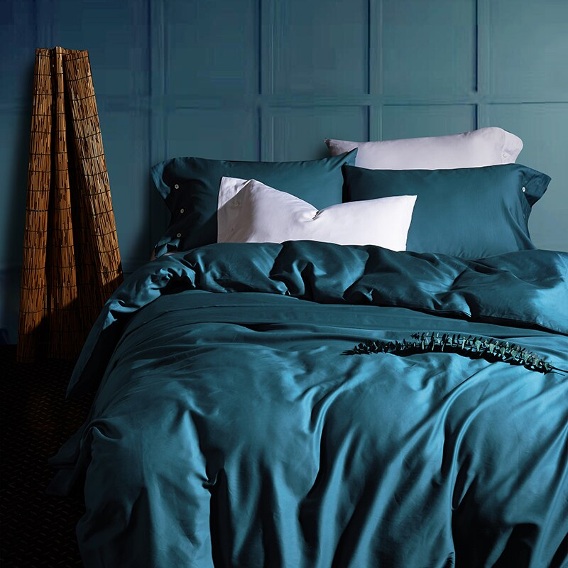 Klazida Ultra Silky Soft Egyptian Cotton Duvet Cover Set - Venetto Design