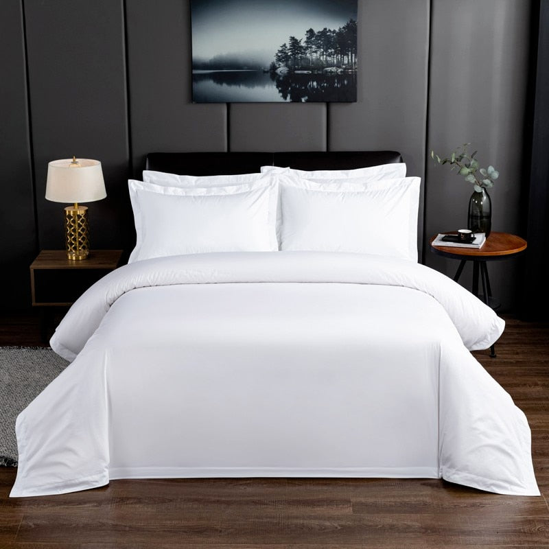 Lola Crisp 100% Cotton Duvet Cover Set - Venetto Design
