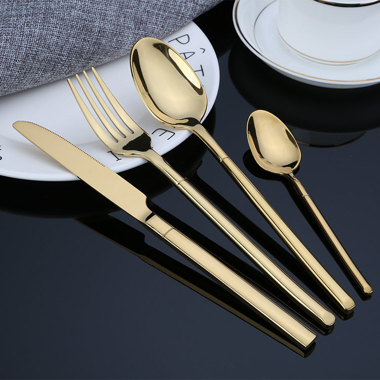Ebony Cutlery Set - Venetto Designgold