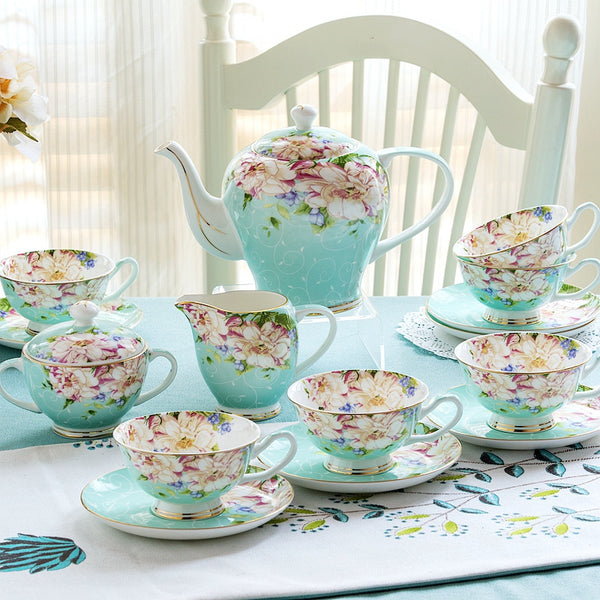 Verona Tea Set - Venetto DesignGreen