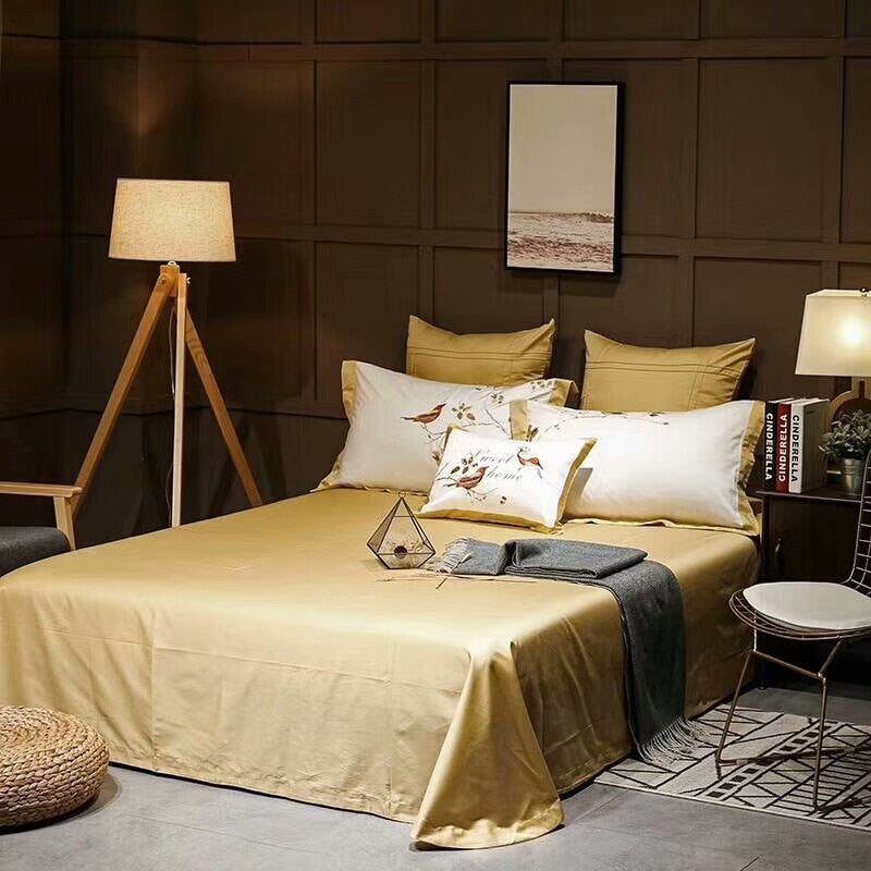 Radona Luxury Egyptian cotton Oriental Embroidery Duvet Cover Set - Venetto Design