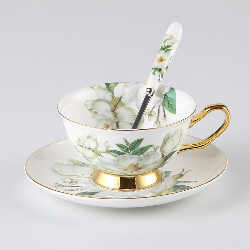 Floreziya Ceramic Bone China Tea/Coffee Set - Venetto Design