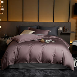 Kailey Reversible 100% Egyptian Cotton Duvet Cover Set - Venetto Design