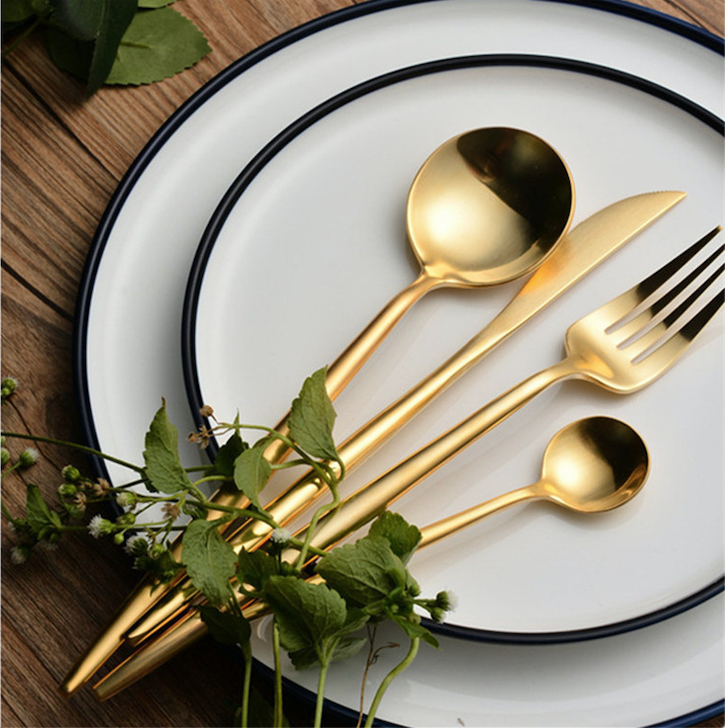 Flatware ARYA GOLD FLATWARE - Venetto Design