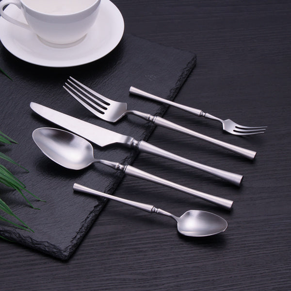 Flatware Serena Silver Cutlery Set - Venetto Design