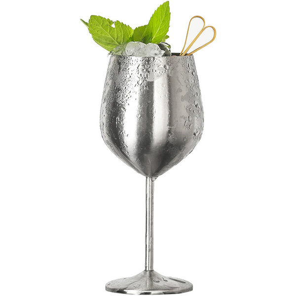 Ibiza Stainless Steel Glass - Venetto DesignSILVER / Cocktail Glass - 6 Pieces