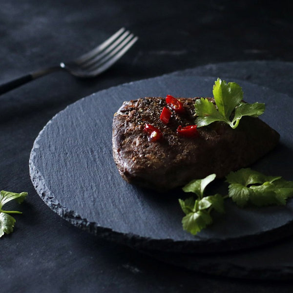 Plate Zebok Natural Slate Plate - Venetto Design