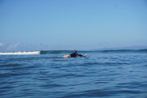 Paddling Out by @holalenita