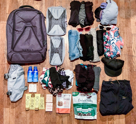 Costa Rica Packing Items