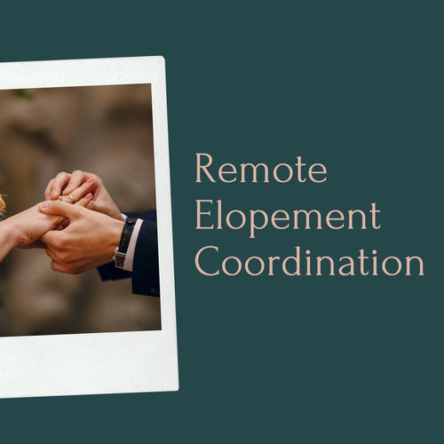 Remote Elopement Coordination (Couple Only)