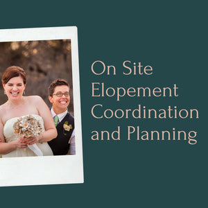On-Site Coordination and Elopement Planning (Couple Only)