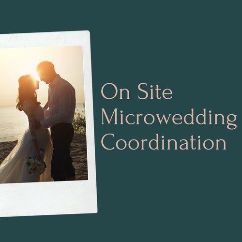On-Site Micro Wedding Coordination