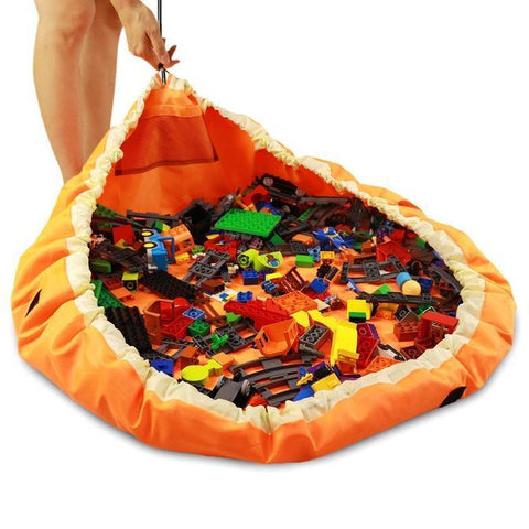 Image of EZ UP - Lego/Toy Bag & Play Mat