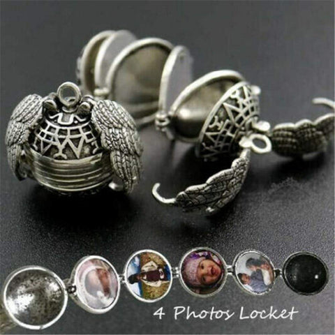 Angel Wing™ Locket Necklace