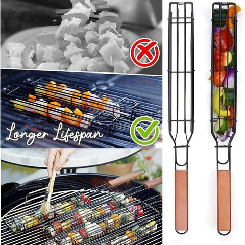 Kabob King™ Grill Basket