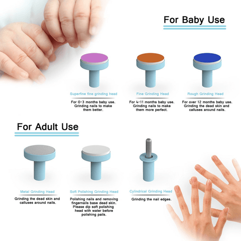Image of No Fuss Baby Nail File™