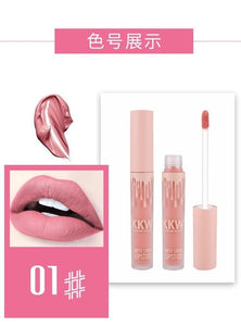 Lip Gloss Nude Lip Color Kilie Birthday Edition Liquid Lipstick Matte Kkw Beauty Lipgloss Lip Tint Stain Makeup Kliejenner