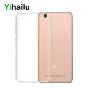 For Xiaomi Redmi 4A Case Cover Soft Transparent TPU Silicone Cover Ultra Thin Cell Phone Case For Redmi 4A