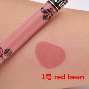 15 Colors Lip Gloss New Lipstick Matte Lip Tint Make Up Lip Kit Colorful Sexy Fashion Lips Makeup Essential Cosmetics
