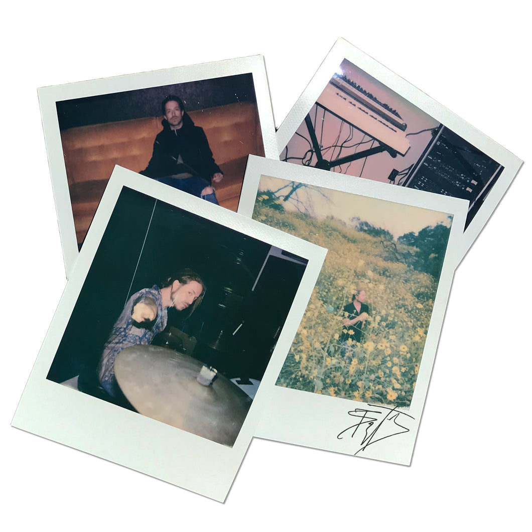SIGNED 'MAKING THE ALBUM' POLAROID PACK + ALL ACCESS