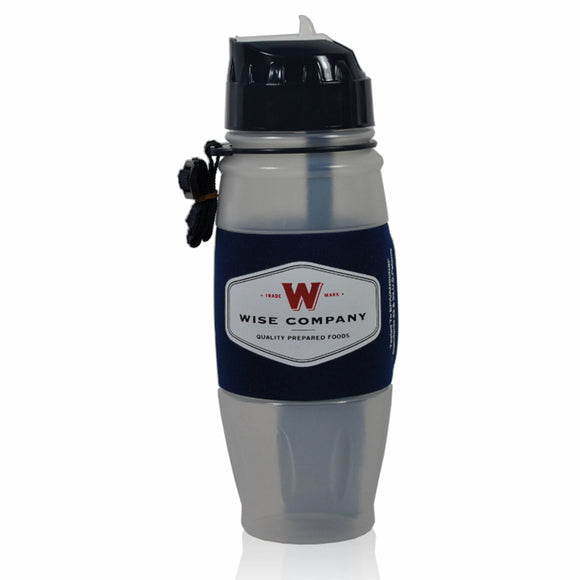2Wise Water Bottle Powered By Seychelle