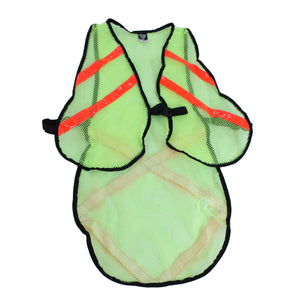 Extended Length Cycling Safety Vest