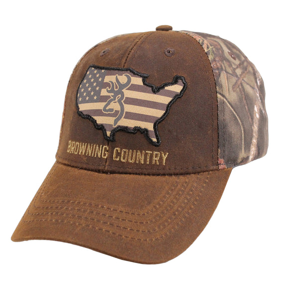 Cap, Browning Country Camo